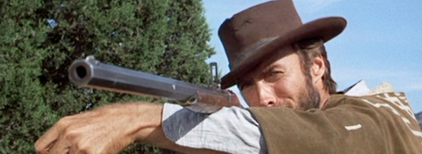 Clint Eastwood in Good, Bad, and Ugly