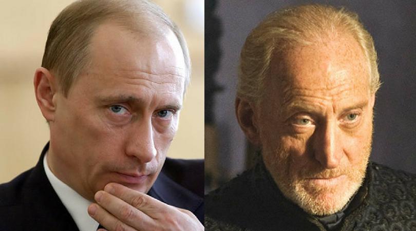 Vladimir Putin as Tywin Lannister