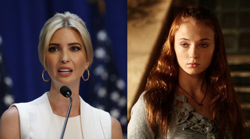 Ivanka Trump as Sansa Stark