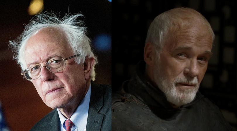Bernie Sanders as Barristan Selmy
